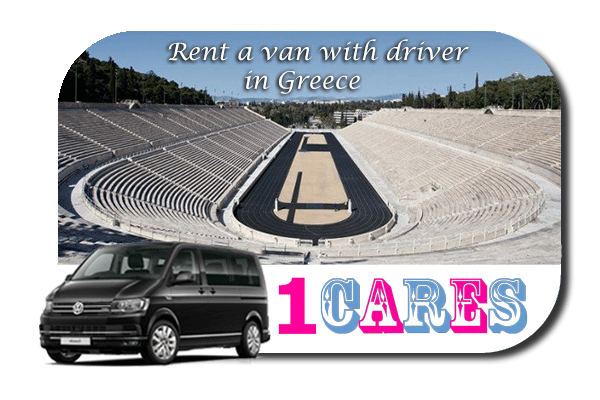 Hire a van with driver in Greece