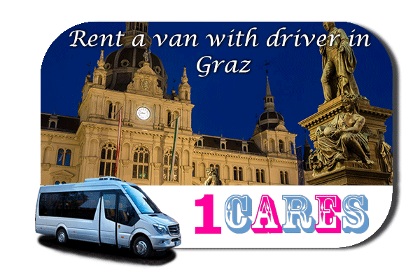 Hire a van with driver in Graz