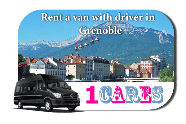 Rent a van with driver in Grenoble