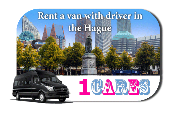 Rent a van with driver in The Hague