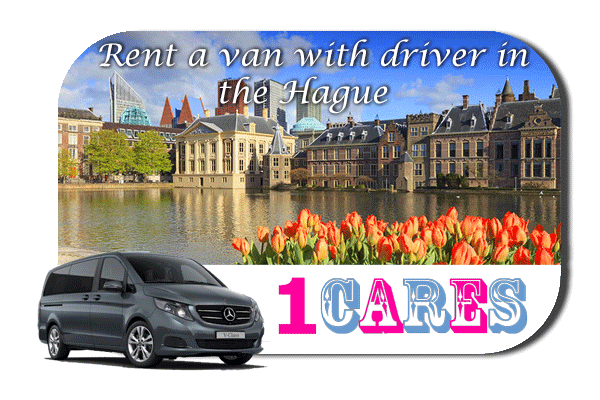 Hire a van with driver in The Hague