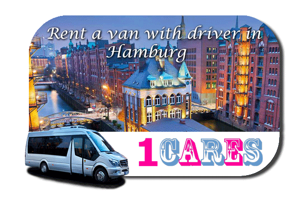 Hire a van with driver in Hamburg