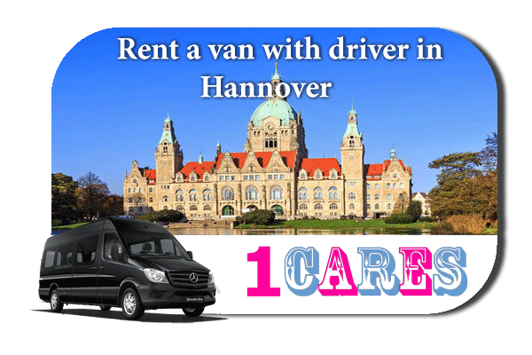 Rent a van with driver in Hannover