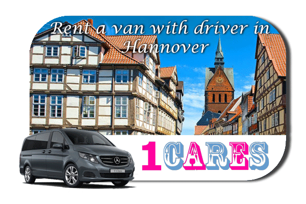 Hire a van with driver in Hannover