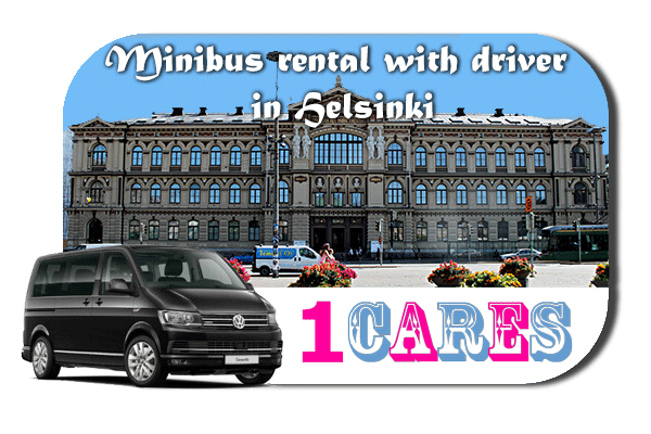 Rent a van with driver in Helsinki