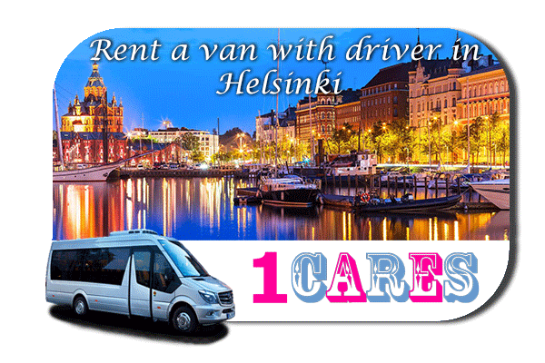 Hire a van with driver in Helsinki