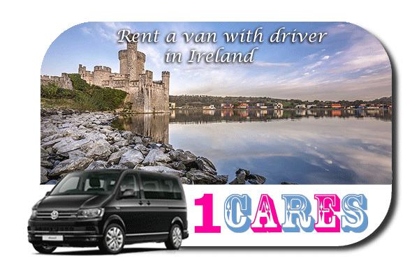 Hire a van with driver in Ireland