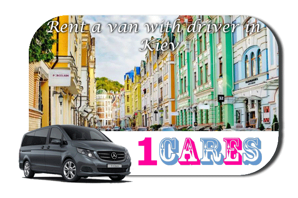 Hire a van with driver in Kiev