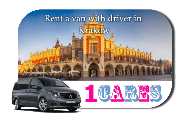 Hire a van with driver in Krakow