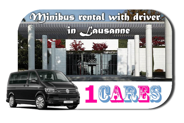 Rent a van with driver in Lausanne