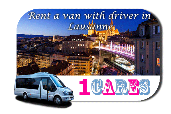Hire a van with driver in Lausanne