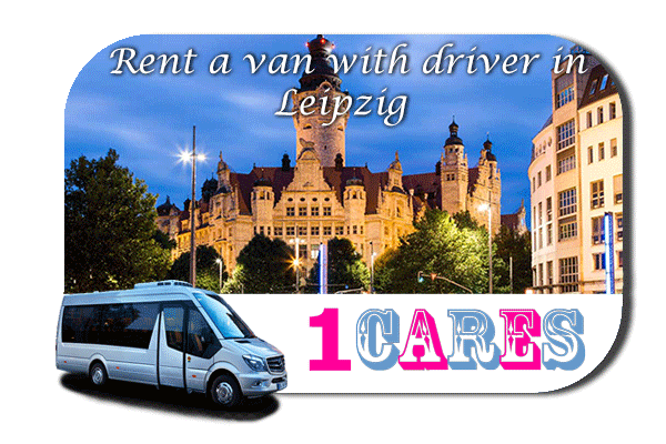 Hire a van with driver in Leipzig