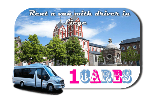 Rent a van with driver in Liège