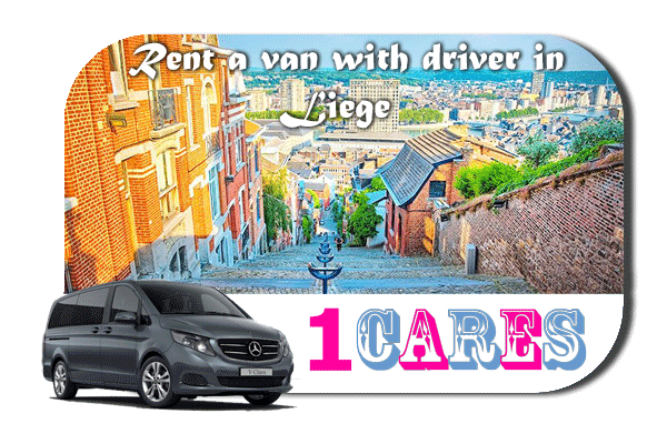 Hire a van with driver in Liège