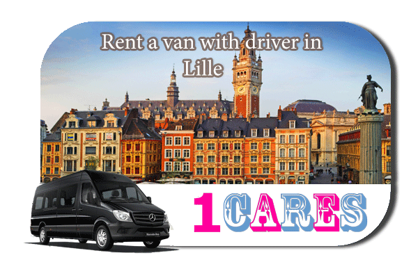 Rent a van with driver in Lille