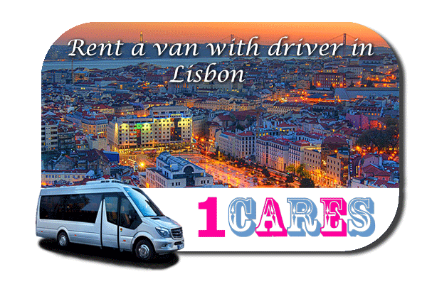Hire a minibus with driver in Lisbon