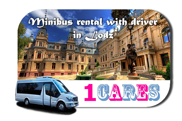 Rent a van with driver in Lodz
