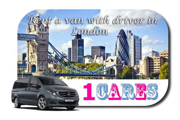 Hire a van with driver in London
