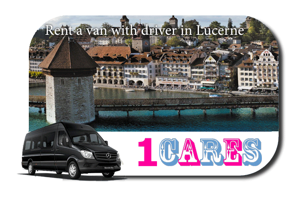 Rent a van with driver in Lucerne