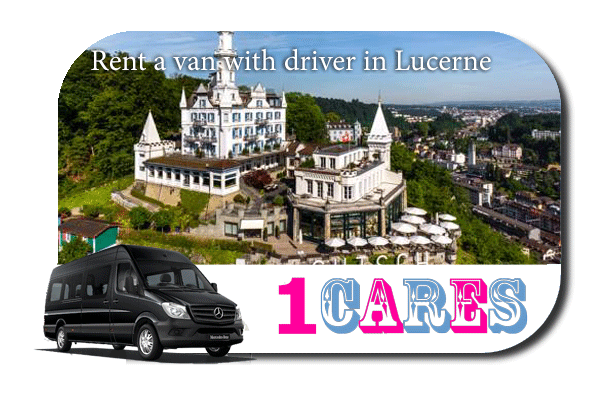 Hire a van with driver in Lucerne