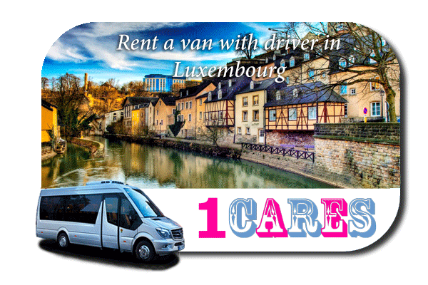 Rent a van with driver in Luxembourg