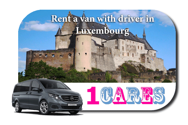 Hire a van with driver in Luxembourg