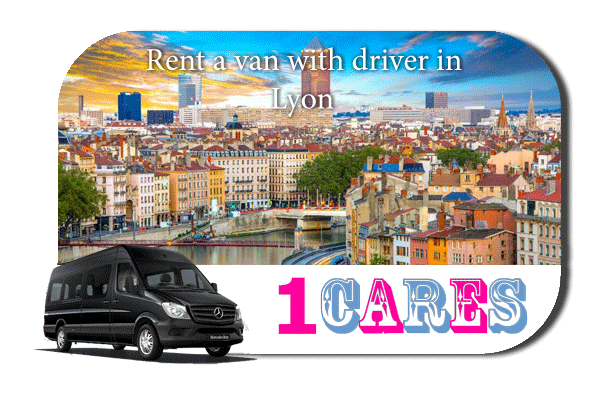 Rent a van with driver in Lyon