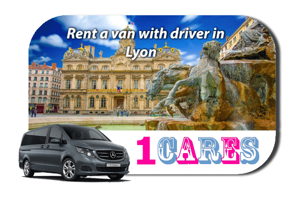 Hire a van with driver in Lyon