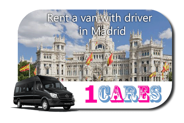 Rent a van with driver in Madrid
