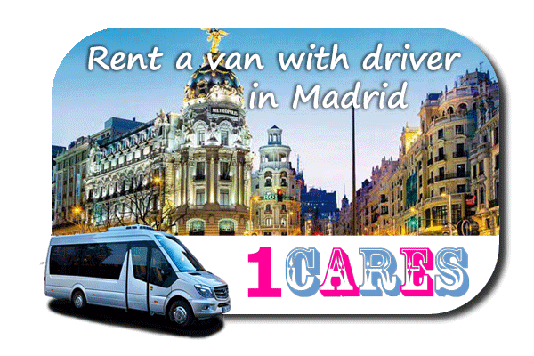 Hire a minibus with driver in Madrid