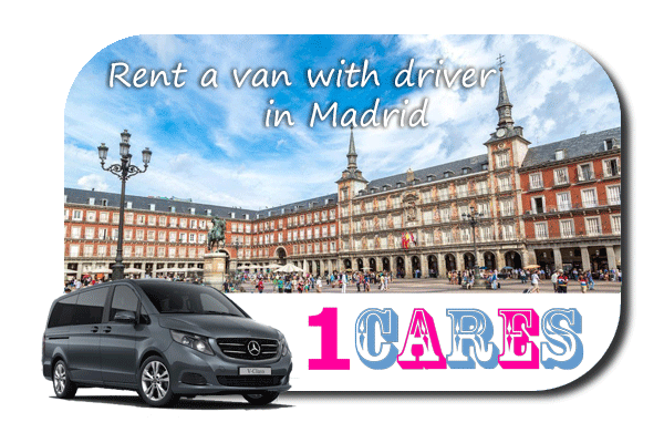 Hire a van with driver in Madrid
