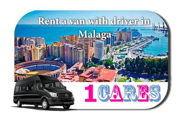 Rent a van with driver in Malaga