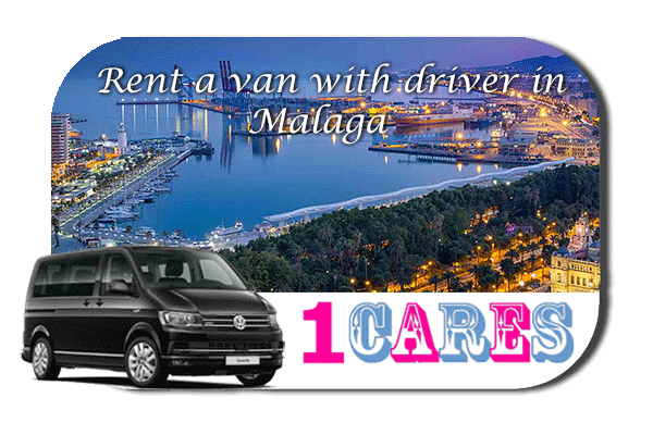 Hire a van with driver in Malaga