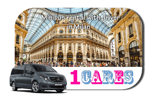 Rent a van with driver in Milan