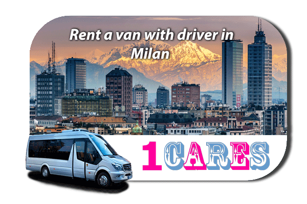 Hire a van with driver in Milan