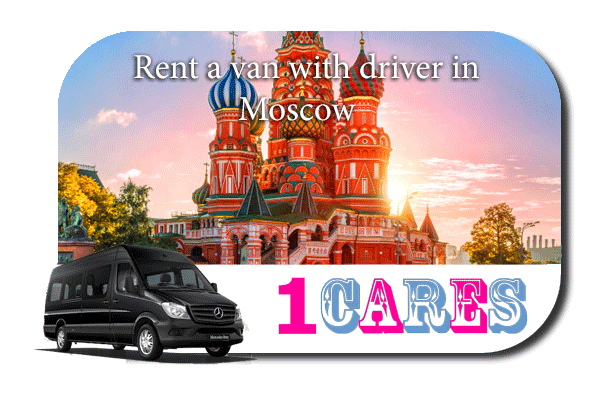 Rent a van with driver in Moscow