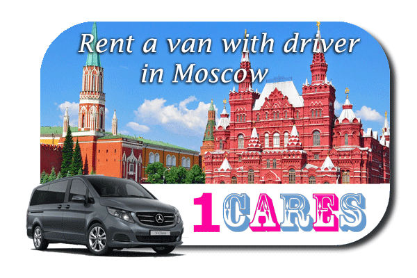 Hire a van with driver in Moscow