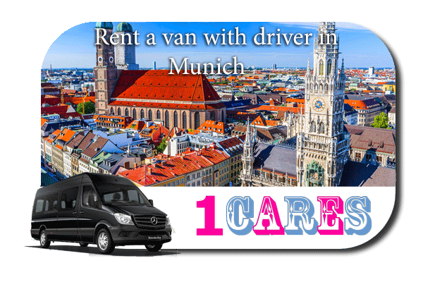 Rent a van with driver in Munich