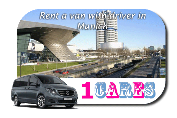 Hire a van with driver in Munich