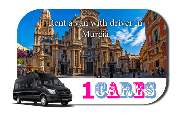 Rent a van with driver in Murcia
