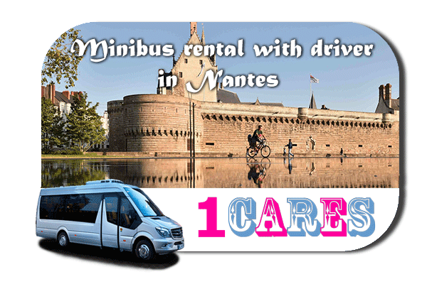 Rent a van with driver in Nantes