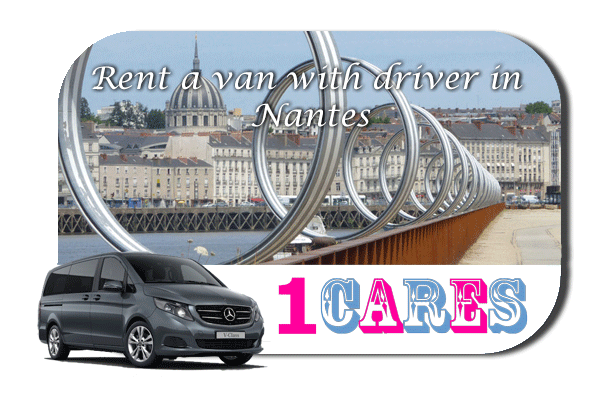 Hire a van with driver in Nantes