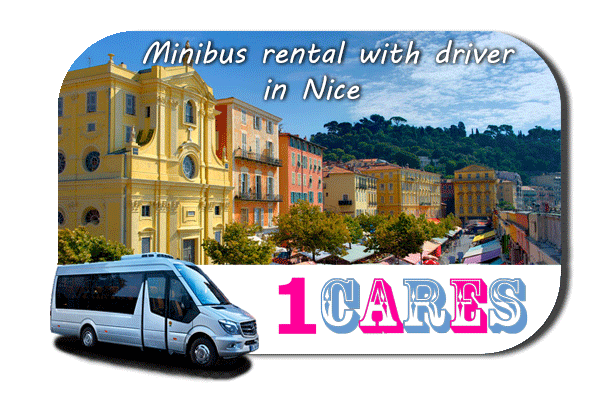 Rent a van with driver in Nice