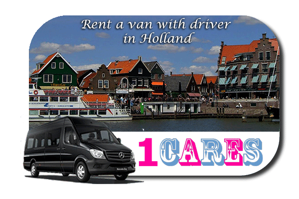 Hire a van with driver in Holland