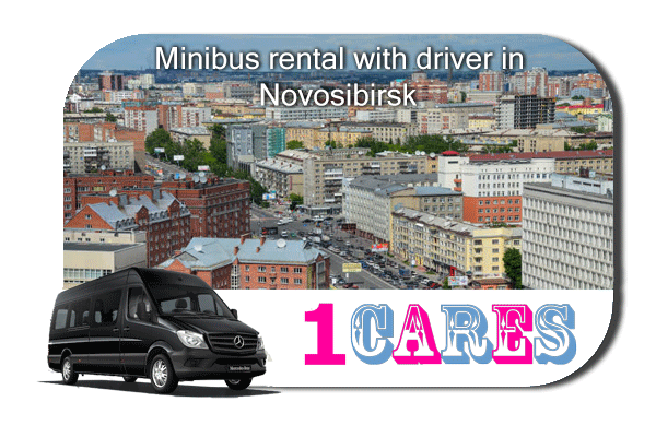 Rent a van with driver in Novosibirsk