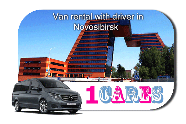 Hire a van with driver in Novosibirsk