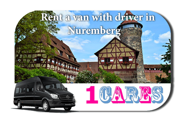 Rent a van with driver in Nuremberg