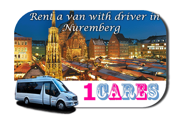 Hire a van with driver in Nuremberg