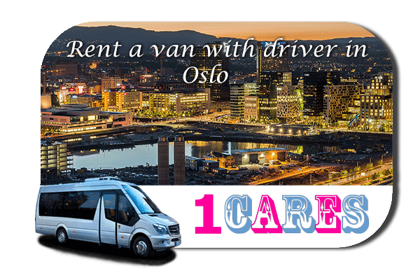 Hire a van with driver in Oslo
