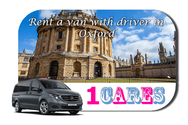 Rent a van with driver in Oxford